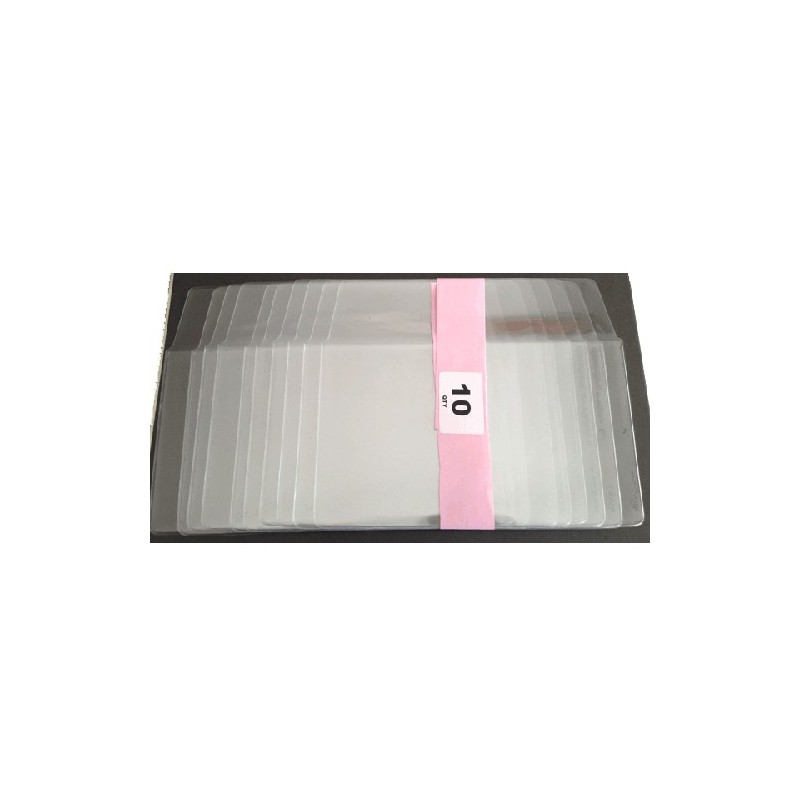PNC & Medallion Covers Clear Protectors Pack of 10