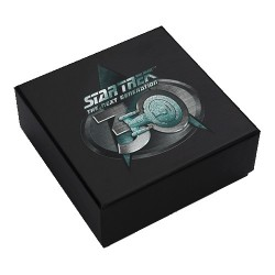 2017 $1 Star Trek - The Next Generation 30th Anniversary 1oz Silver Proof Coin