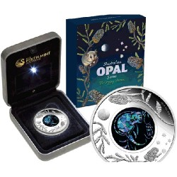 2013 $1 Australian Opal Series - The Pygmy Possum 1oz Silver Proof Coin
