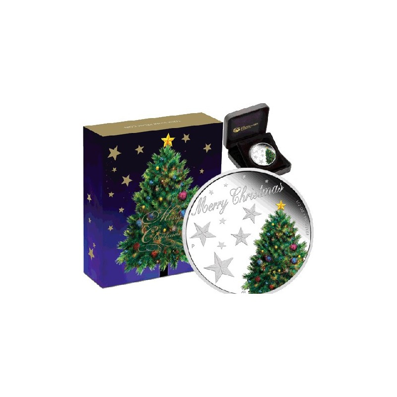 2013 50c Chirstmas 1/oz Silver Proof Coin