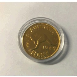 1945 Gold Plated Australian Penny Each