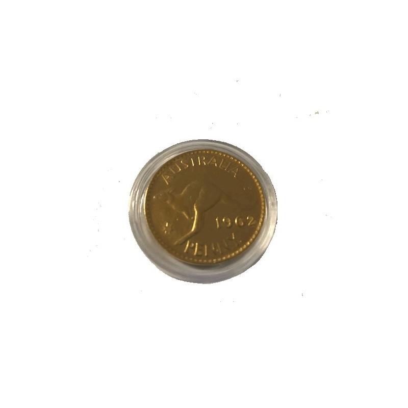 1962 Gold Plated Australian Penny Each