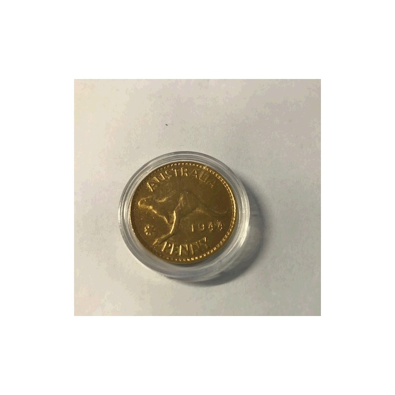 1944 Gold Plated Australian Penny Each