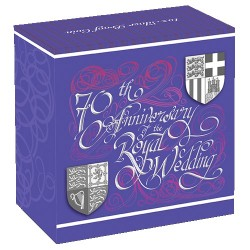 2017 $1 70th Anniversary of the Royal Wedding 1oz Silver Proof Coin