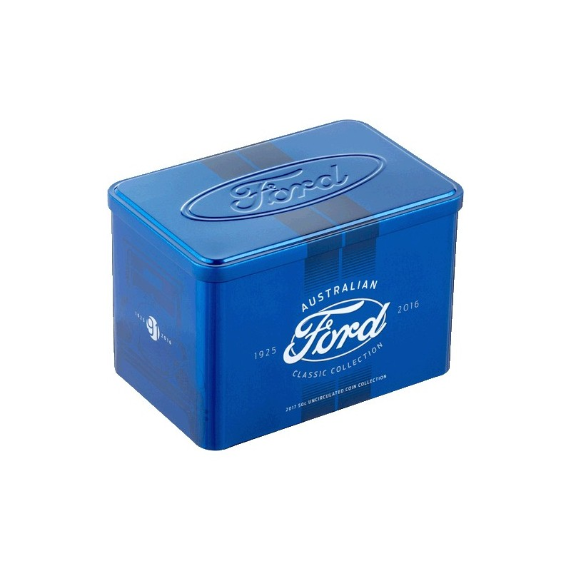 2017 50c Ford Australian Classic 12 Coin Collection