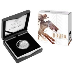 2017 $5 Battle of Beersheba : Charge of the Light Horsemen Fine Silver Proof Coin