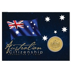 2018 $1 Australian Citizenship Uncirculated Coin in Card