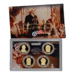 2009 $1 USA Presidential Dollar Proof Set 4 Coins