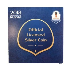 2018 $1 FIFA World Cup 1oz Silver Proof Coin