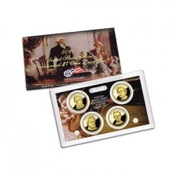 2010 $1 USA Presidential Dollar Proof Set 4 Coins