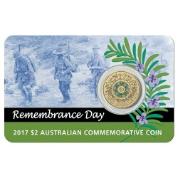 2017 $2 Remembrance Day Al-Br Coin Pack