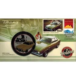 2017 1972 LJ Holden Torana GTR XU-1 Medallion & Stamp Cover PNC