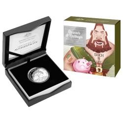 2018 $1 Ratbags & Rascals C Mintmark Fine Silver Proof Coin