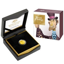 2018 $10 Ratbags & Rascals C Mintmark 1/10oz Gold Proof Coin