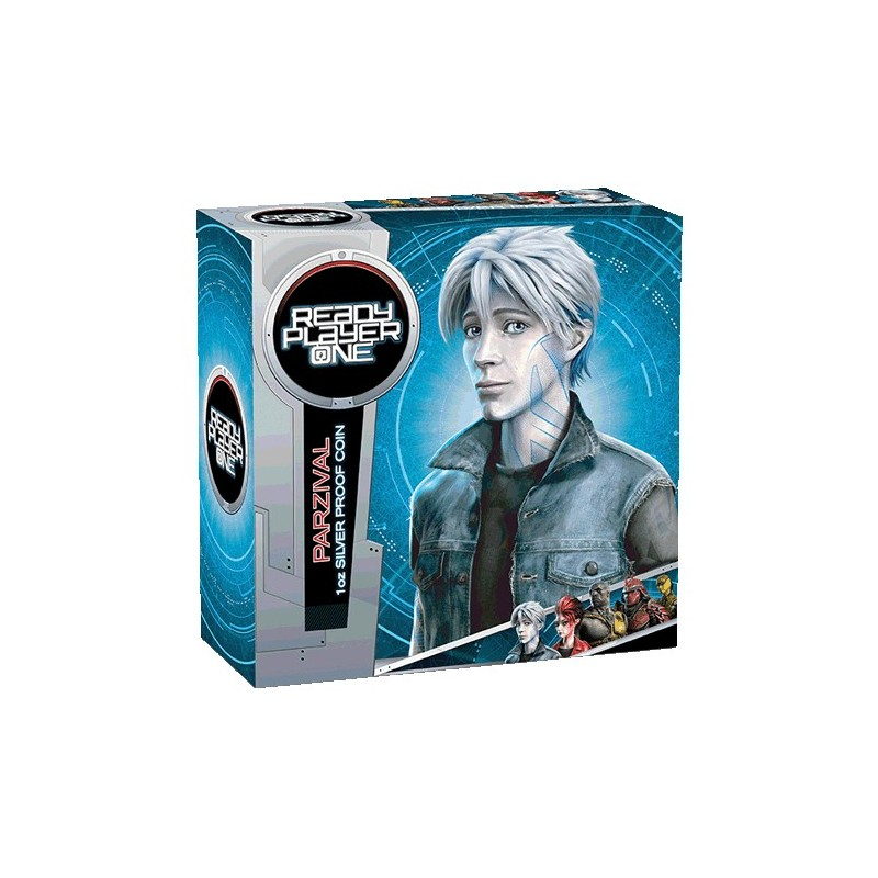 2018 1 Ready Player One Parzival 1oz Silver Proof Coins