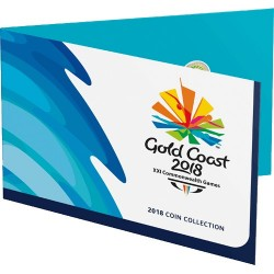 2018 XXI Commonwealth Games 7 Coin Collection