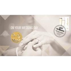 2016 $1 Wedding  Coin & Stamp Cover PNC