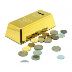 Gold Bullion Money Box Replica