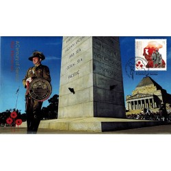2018 $1 Armistice - A Century of Service War Memorial Coin & Stamp Cover PNC