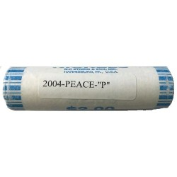 2004 USA Peace Medal Nickel P Mint Roll of 40 Unc Coins