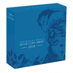 2018 $8 Australian Koala 5oz Silver High Relief Proof Coin