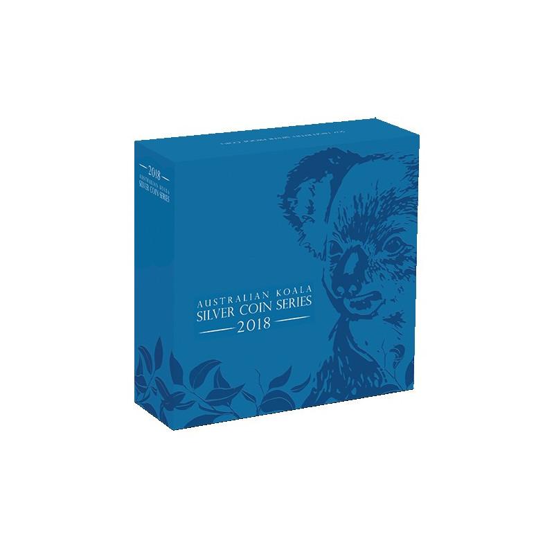 2018 8 Australian Koala 5oz Silver High Relief Proof Coin