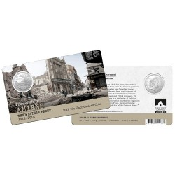 2018 50c The Western Front - Amiens 1918 - 2018 Unc Coin in Card