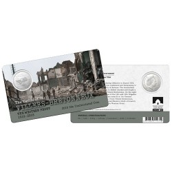 2018 50c The Western Front - Villers-Bretonneux 1918 - 2018 Unc Coin in Card