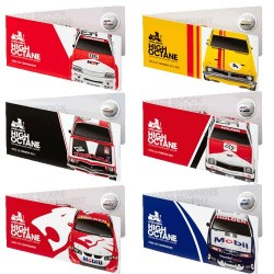 2018 50c Holden Motorsport 6 Coin Collection Cards Only
