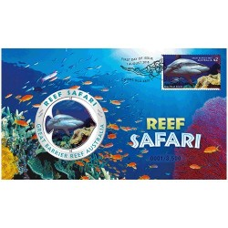 2018 Reef Safari LImited Edition Medallion & Stamp Cover PNC