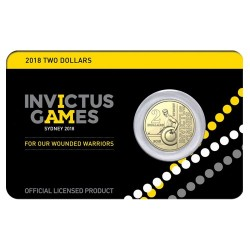 2018 $2 Invictus Games Mint Roll