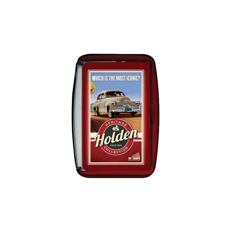 Holden 70th Anniversary Top Trumps Card Game