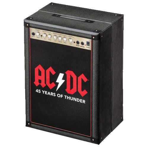 2018 $5 AC/DC 45 Years of Thunder Silver Nickel Plated