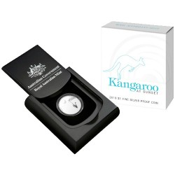 2019 $1 Kangaroo at Sunset Fine Silver Proof Coin