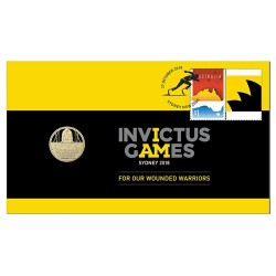 2018 Invictus Games Coin & Stamp Cover PNC