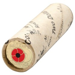 2018 $2 Remembrance Day Armistice RAM Mint Roll