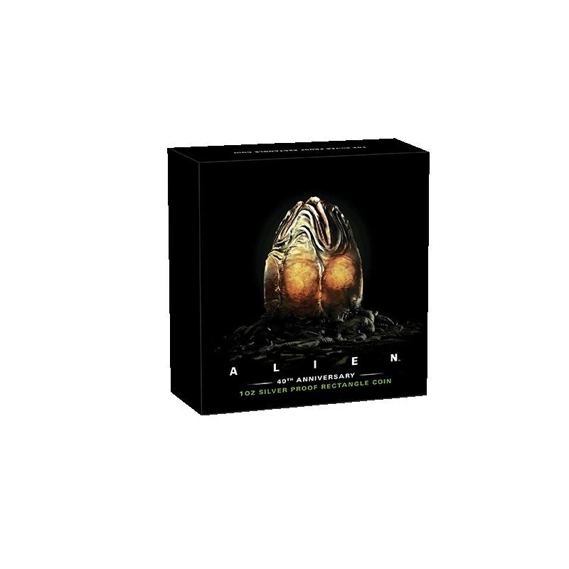 2019 $1 Alien 40th Anniversary 1oz Silver Proof Coin
