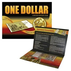 Last $1 Note & First $1 Coin Pack Uncirculated