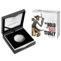 2019 $1 Australia's Wild Colonial Bushrangers C Mintmark Silver Proof Coin