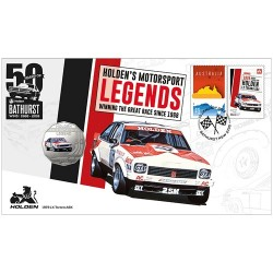 2019 50c 1979 Holden LX Torana A9X Coin & Stamp Cover PNC