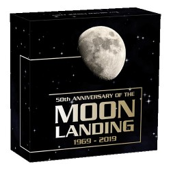 2019 $1 50th Anniversary of the Moon Landing 1oz Silver Proof Coin