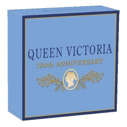 2019 $1 Queen Victoria 200th Anniversary 1oz Silver Proof Coin
