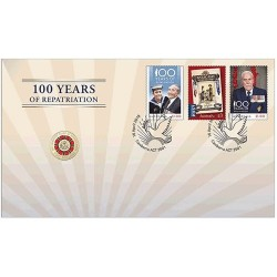 2019 $2 Bringing Them Home - A Hundred Years of Repatriation Coin & Stamp Cover PNC