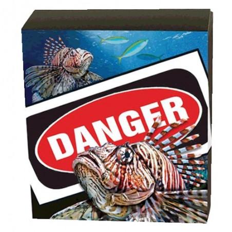 2019 $1 Deadly & Dangerous Series - Australia's Lionfish 1oz Silver Proof Coin