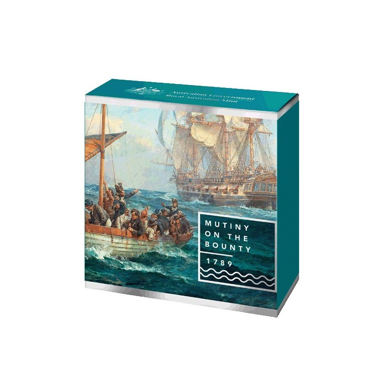 2019 $5 Mutiny on the Bounty Silver Proof Coin