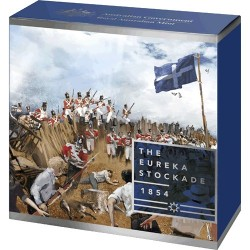 2019 $5 Mutiny and the Rebellion - The Eureka Stockade Silver Proof Coin