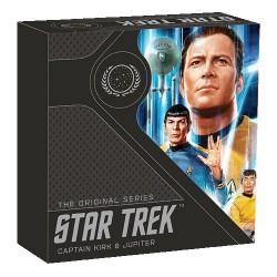2019 $1 Star Trek - The Original Series Kirk 1oz Silver Proof Coin