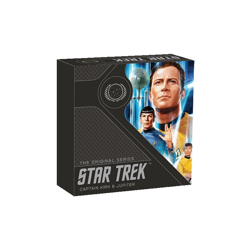 2019 $1 Star Trek - The Original Series Kirk 1oz Silver Proof Coin