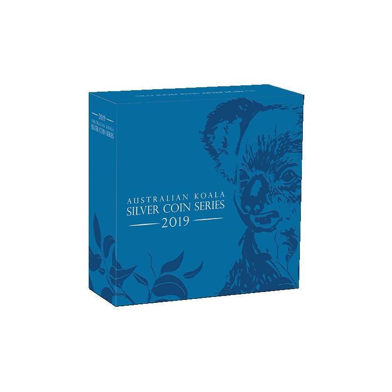2019 $8 Australian Koala 5oz Silver High Relief Proof Coin
