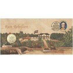 2019 $1 The Rum Rebellion Coin & Stamp Cover PNC